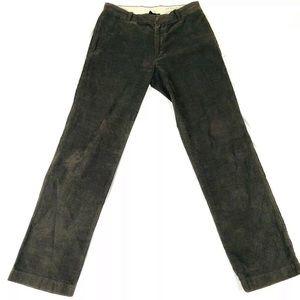 🌹J. Crew Sz 32 X 34 Corduroy Pants 100% Cotton
